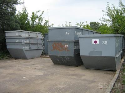 Atkritumu konteineri