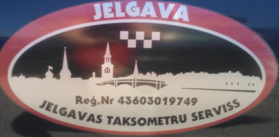 """Jelgavas taksometru serviss"" SIA, diennakts taksometru pakalpojumi"