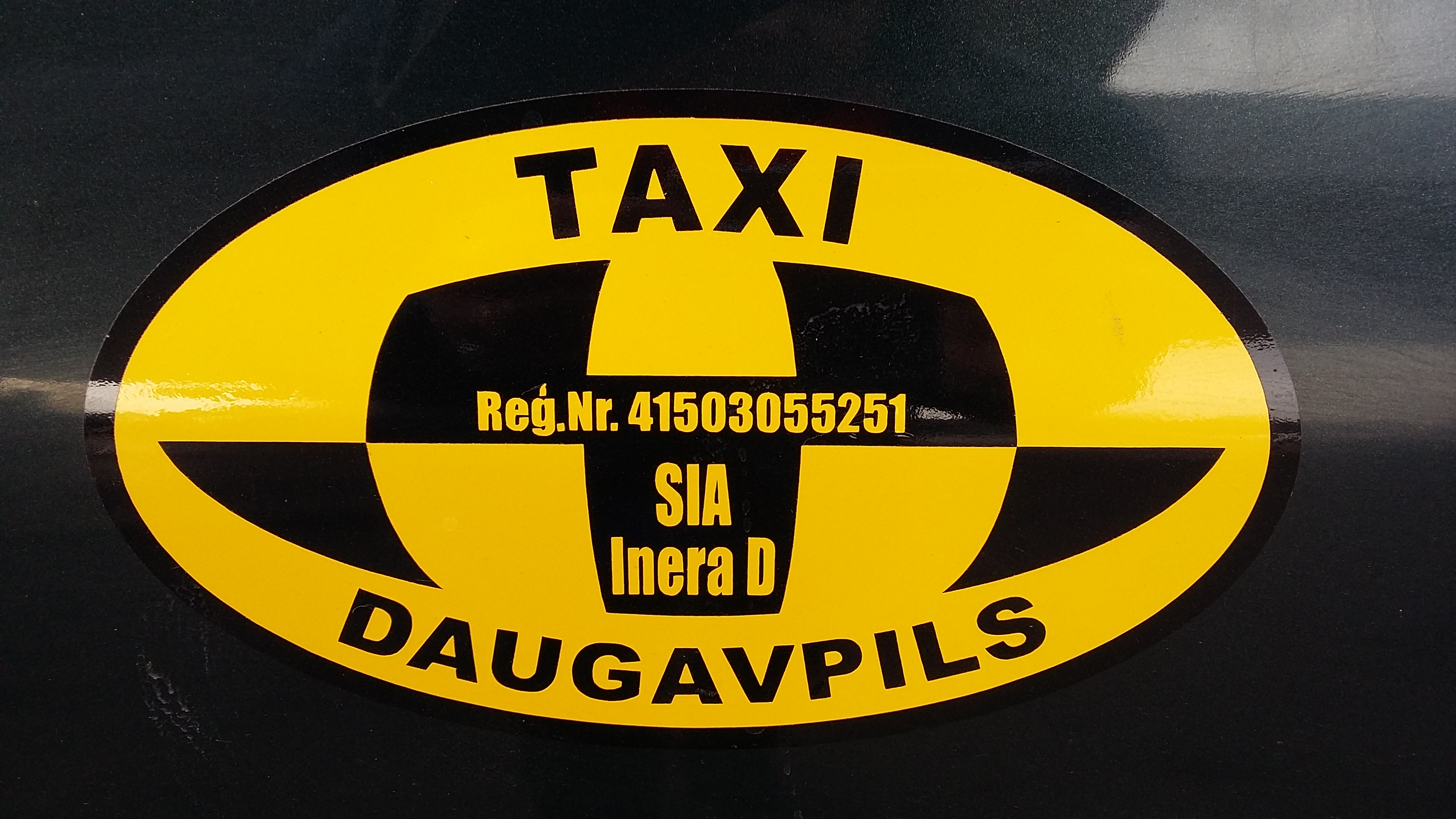 """Inera D"" taksometru pakalpojumi Daugavpilī"