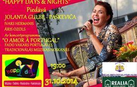 Jolanta Gulbe - Paškeviča ar koncertprogrammu /O Amor A Portugal/ FADO mūzikas vakars - a picture